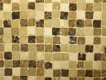 Travertine stone mosaic Stock Image