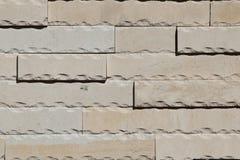 Travertine stone wall Stock Photos