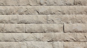 Travertine stone wall Stock Images