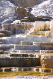 Travertine terrace Stock Image