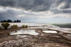 Pamukkale in Turkey Royalty Free Stock Image