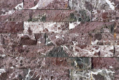 Travertine tile, brick building material color Stock Photo