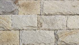 Travertine tile, brick building material color. Up Stock Photography