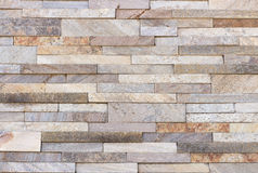 Travertine tile, brick building material color. Up Stock Photo