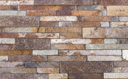 Travertine tile, brick building material color. Up Royalty Free Stock Photos