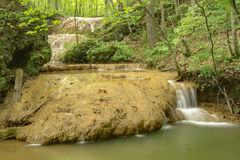 Free Travertine Water Formation - 2 Stock Photography - 98127112