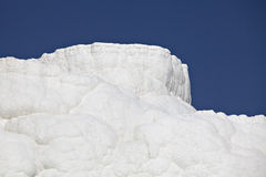 Travertines of Pamukkale. Denizli, Turkey Royalty Free Stock Photography