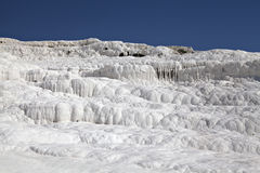 Travertines of Pamukkale. Denizli, Turkey Royalty Free Stock Images