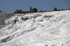 Travertines of Pamukkale. Denizli, Turkey Stock Photography