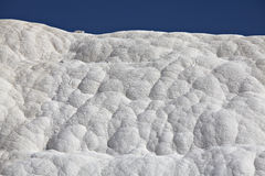 Travertines of Pamukkale. Denizli, Turkey Stock Images