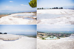 The travertines of Pamukkale Royalty Free Stock Image