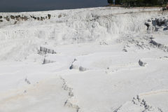 Travertines in Pamukkale Royalty Free Stock Image