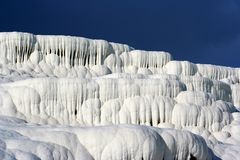 Travertines of Pamukkale Royalty Free Stock Photos