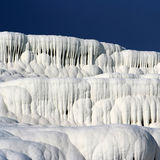 Travertines of Pamukkale Royalty Free Stock Photography