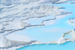 Travertines in Pamukkale, Turkey Royalty Free Stock Photo