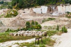 Travertino marble Stock Photo
