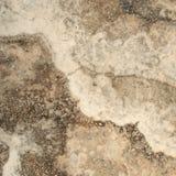 Travertino, Marmurowa tekstura, kamienny tło płytki projekt Zdjęcie Stock