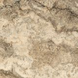 Travertino, Marmurowa tekstura, kamienny tło płytki projekt Fotografia Stock