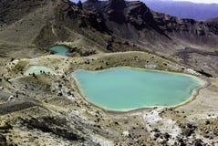 Travesía alpestre de Tongrario - lagos Fotos de archivo