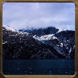 Travesía de Alaska excursiones del viaje 1970 y de la familia del vintage del ` s de 35 diapositivas del milímetro Fotografía de archivo
