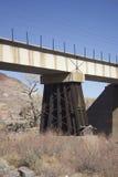 Travesía de ferrocarril imagenes de archivo
