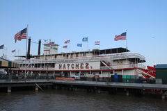 Travesía de la barca de Natchez Imagen de archivo