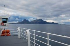 Travesía de la isla de Lofoten Fotografía de archivo