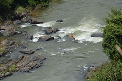 Travesía de río Fotos de archivo libres de regalías
