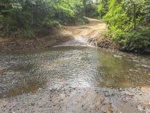 Travesía de río de Aduana Fotografía de archivo libre de regalías