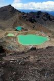 Travesía de Tongariro - Nueva Zelandia Fotos de archivo