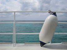 Travesía del barco fotografía de archivo
