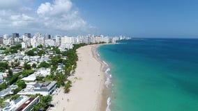Travesía del Caribe Puerto Rico Island Carnival almacen de metraje de vídeo