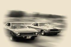 Travesía del coche del músculo Fotos de archivo libres de regalías