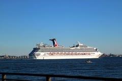 Travesía del mar, Nueva York, los E.E.U.U. Fotografía de archivo libre de regalías