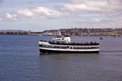 Travesía del puerto de San Diego Fotografía de archivo libre de regalías