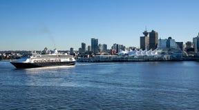 Travesía del puerto - Vancouver fotos de archivo