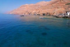Travesía en Crete fotografía de archivo
