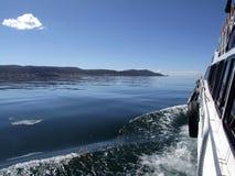 Travesía en el lago Titicaca Imágenes de archivo libres de regalías