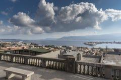 Travesía octubre de 2017 mediterráneo Imágenes de archivo libres de regalías