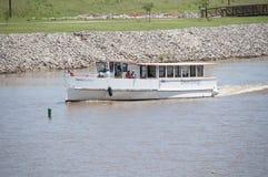 Travesías en el río de Oklahoma fotografía de archivo