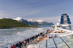 Travesía de Alaska Foto de archivo libre de regalías