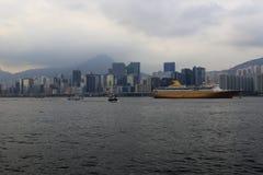 Travesía del este del dragón, Hong-Kong Fotografía de archivo
