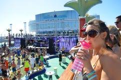 Travesía Miami 2014 del surco Foto de archivo