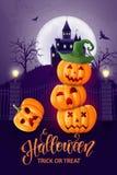 Travestimento di Halloween, costumi svegli dei bambini Caratteri divertenti Carta dell'invito per il partito e la vendita Feste d fotografie stock libere da diritti
