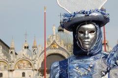 Travestimento di Venezia Fotografie Stock Libere da Diritti