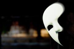 Travestimento - fantasma della mascherina di opera Fotografie Stock