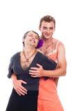 Travestis divertidos Fotografia de Stock