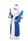 Travesty Actors Genre Depict Santa Claus Stock Image