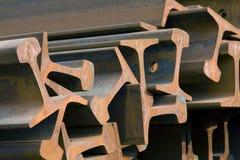 Travi di acciaio Fotografie Stock