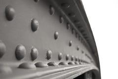 Travi di acciaio Fotografia Stock